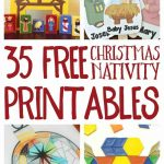 Free Christmas Nativity Printables And Coloring Pages   Free Printable Nativity Story