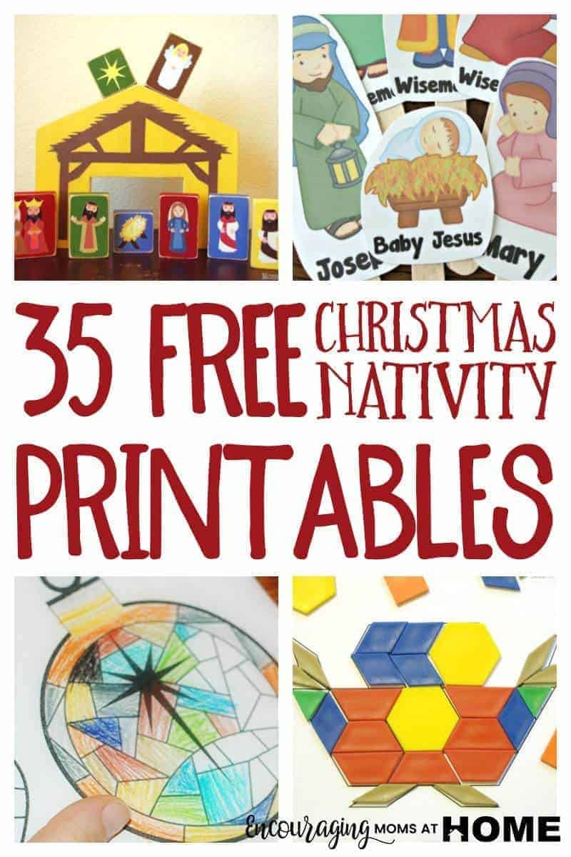 Free Christmas Nativity Printables And Coloring Pages - Free Printable Nativity Story