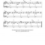 Free Christmas Sheet Music For Easy Piano Solo, O Christmas Tree   Free Christmas Piano Sheet Music For Beginners Printable