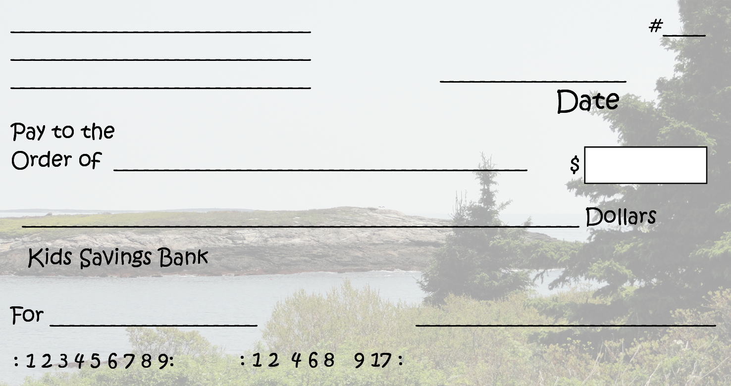 Free Clipart N Images: Printable Pretend Checks For Kids - Free Printable Checks