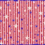 Free Digital Scrapbook Paper   Patriotic Red, White, And Blue   Free Printable Patriotic Scrapbook Paper