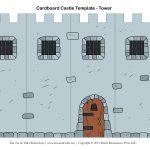 Free Diy Cardboard Castle For Kids   Build Your Own Cardboard Castle   Free Printable Castle Templates