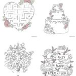 Free Download Printable Wedding Colouring Sheets For Kids | Going To   Free Printable Personalized Children's Books