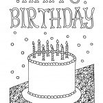 Free Downloadable Adult Coloring Greeting Cards | Diy Gifts | Happy   Free Printable Birthday Cards To Color