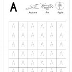 Free English Worksheets   Alphabet Tracing (Capital Letters   Free Printable Alphabet Pages