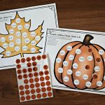 Free Fall Toddler Worksheets (Instant Download)   Free Printable Fall Math Worksheets