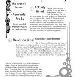 Free Family Fun Devotion Time. Printable Game, Lesson, Activity   Bible Lessons For Adults Free Printable