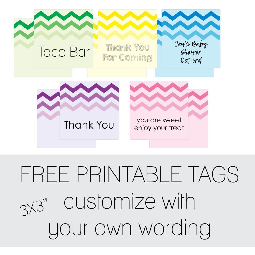 Free Favor Tags For Parties | Cutestbabyshowers - Free Printable Thank You Tags For Birthday Favors