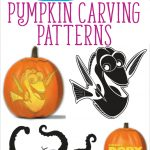 Free Finding Dory Pumpkin Carving Patterns To Print! | All Things   Free Pumpkin Carving Patterns Disney Printable