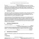 Free Florida Last Will And Testament Template   Pdf | Word | Eforms   Free Printable Living Will Forms Florida