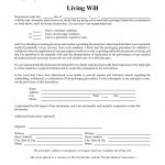 Free Florida Living Will Form   Pdf | Eforms – Free Fillable Forms   Free Printable Living Will Forms Florida
