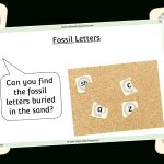 Free Fossil Letters Printable Early Years/ey (Eyfs) Resource   Free Printable Childminding Resources