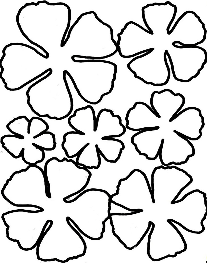 Free Free Flower Templates Printable, Download Free Clip Art, Free - Free Printable Flower Stencils