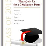 Free Graduation Announcement Template   Kaza.psstech.co   Free Printable Graduation Party Invitations 2014