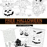 Free Halloween Printable Activity Sheets For Kids | Holidays   Free Printable Halloween Activities