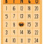 Free Halloween Printables   Bingo   Free Printable Bingo Cards With Numbers