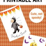 Free Halloween Printables That Are Cute, Not Scary! | Free   Free Printable Halloween Decorations Scary