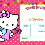 Free Hello Kitty Invitation Templates | Free Printable Birthday   Hello Kitty Birthday Card Printable Free
