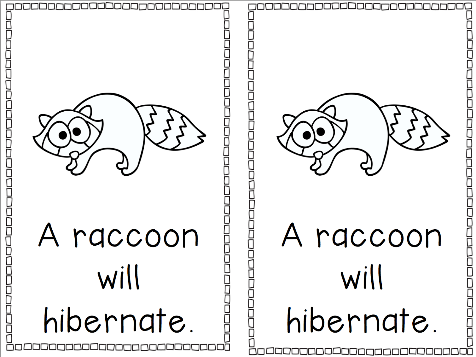 Free Hibernation Cliparts, Download Free Clip Art, Free Clip Art On - Free Printable Hibernation Worksheets