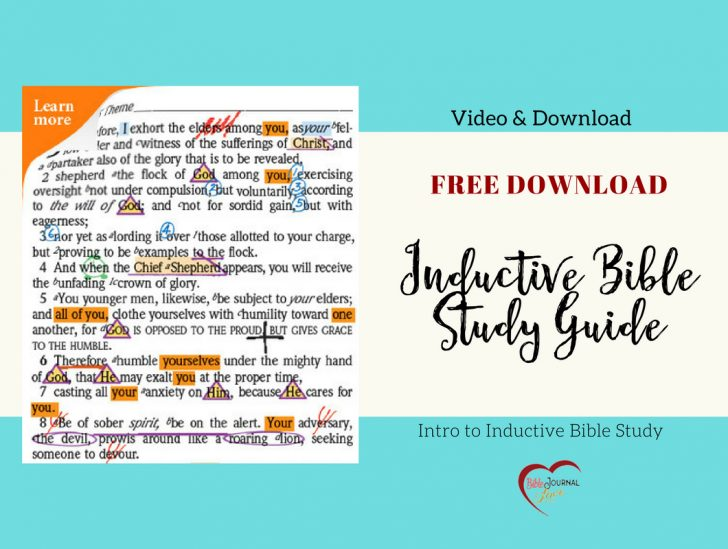 Free Printable Bible Study Guides