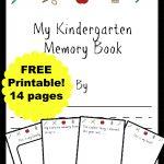 Free Kindergarten Memory Book (Homeschool Edition | Best Of Mrs   Free Printable Preschool Memory Book
