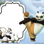 Free Kungfu Panda Invitations Templates | Bagvania Invitation | Free   Panda Bear Invitations Free Printable