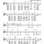 Free Lead Sheet – Were You There In 2019   Gospel Music   Lead Sheet   Free Printable Gospel Music Lyrics