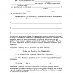 Free Limited (Special) Power Of Attorney Forms   Pdf | Word | Eforms   Free Printable Power Of Attorney Form California