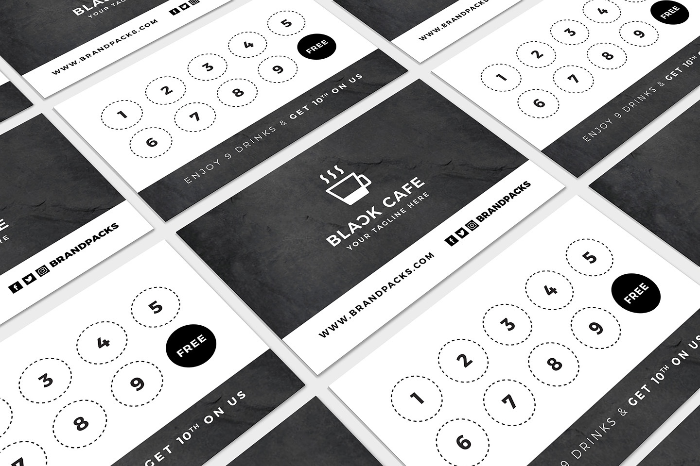 Free Loyalty Card Templates - Psd, Ai & Vector - Brandpacks - Free Printable Loyalty Card Template