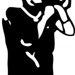 Free Megaphone Stencil, Download Free Clip Art, Free Clip Art On   Free Printable Megaphone Template