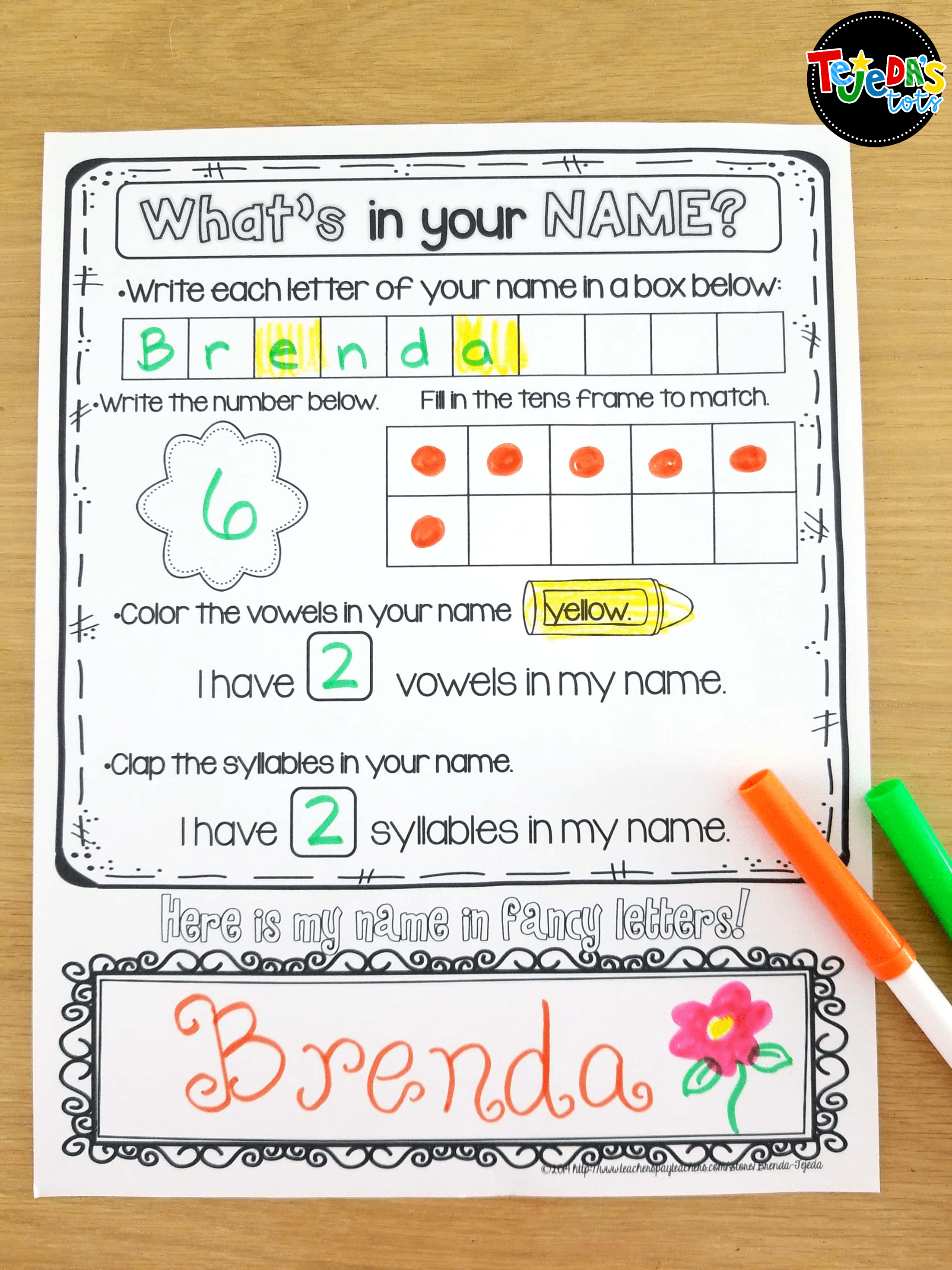 Free Name Printables To Go With The Book Chrysanthemumkevin - Chrysanthemum Free Printable Activities