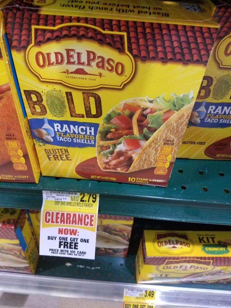 Free Old El Paso Taco Shells At Harris Teeter - Free Printable Old El Paso Coupons