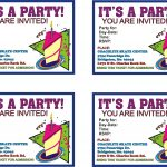 Free Online Printable Birthday Party Invitations | Lazine   13Th Birthday Party Invitations Printable Free