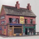 Free Oo Gauge & Ho Scale Building Kits Fergus 3Dk   Free Printable Model Railway Buildings