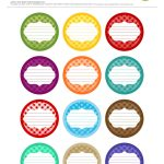 Free Printable| 12 Canning Jar Labels} Freebie@apple Ratana   Free Printable Jam Labels