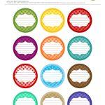 Free Printable| 12 Canning Jar Labels} Freebie@apple Ratana   Free Printable Mason Jar Labels