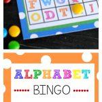 Free Printable Alphabet Bingo Game   Free Printable Alphabet Bingo Cards