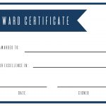 Free Printable Award Certificate Template   Paper Trail Design   Free Printable Awards