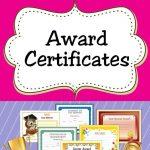 Free Printable Award Certificates For Kids | Awards/certificates For   Free Printable Awards