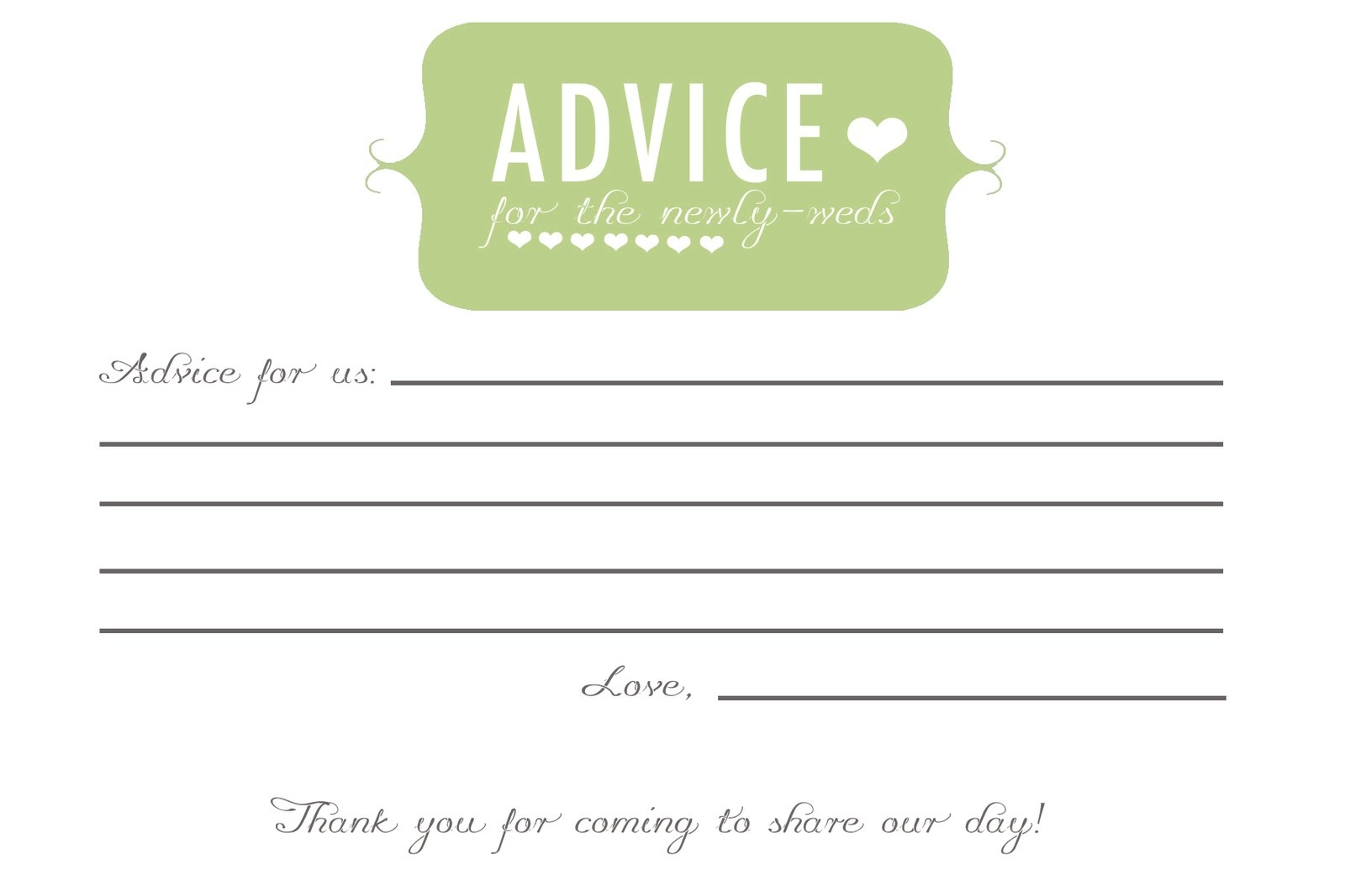 Free Printable Baby Shower Advice Cards (73+ Images In Collection - Free Printable Baby Advice Cards