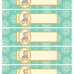 Free Printable Baby Shower Templates   Free Printable Baby Shower Label Templates