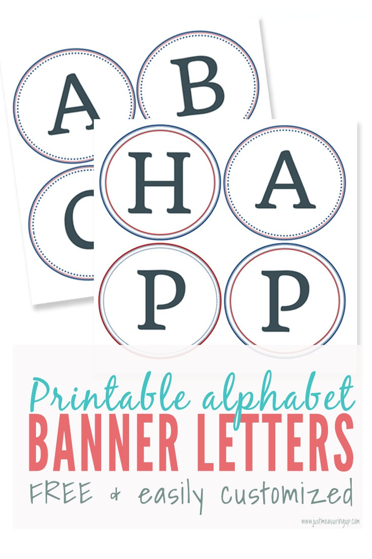 Free Printable Banner Letters | Make Easy Diy Banners And Signs - Free Printable Banner Letters