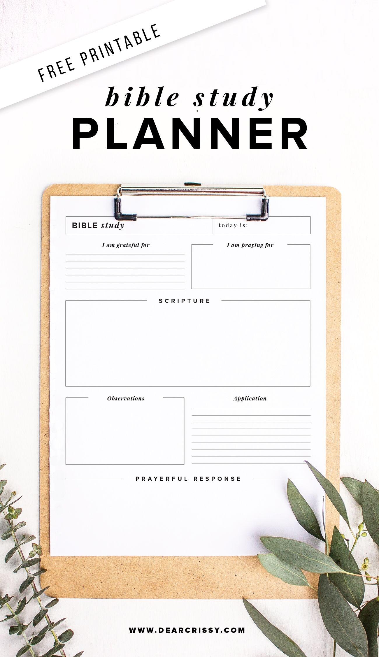 Free Printable Bible Study Planner - Soap Method Bible Study - Free Printable Bible Study Worksheets
