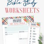 Free Printable Bible Study Worksheets   Arabah   Free Printable Bible Study Worksheets