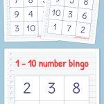 Free Printable Bingo Cards | Math | Kindergarten Math, Preschool   Free Printable Bingo Cards With Numbers