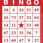 Free Printable Bingo Cards With Numbers   Bingocardprintout   Free Printable Bingo Cards With Numbers