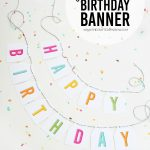 Free Printable Birthday Banners   The Girl Creative   Free Printable Happy Birthday Signs