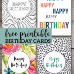 Free Printable Birthday Cards   Birthday Cards   Free Printable   Free Printable Birthday Cards For Adults