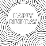 Free Printable Birthday Cards   Paper Trail Design   Free Printable Birthday Cards To Color