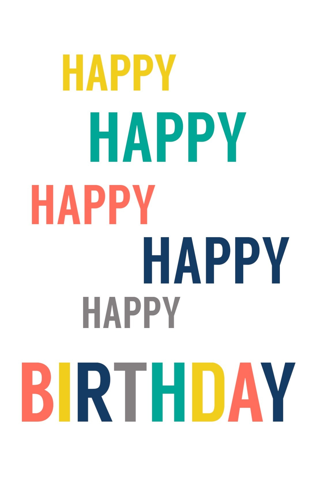 Free Printable Birthday Cards - Paper Trail Design - Free Printable Birthday Cards